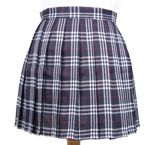 Japanese Striped Plaid Skirt SE20170
