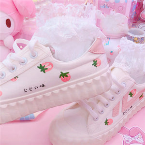 Japanese Sweet Strawberry Shoes SE20628