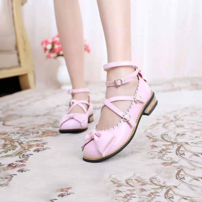 JK Bowknot Love Shoes SE21180