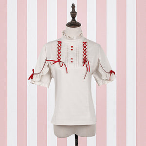 Jk Lolita Bow Shirt Dress SE20171