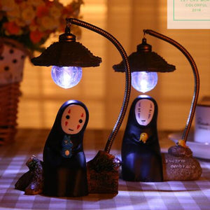 Japanese kawaii anime no face male desk lamp SE10881