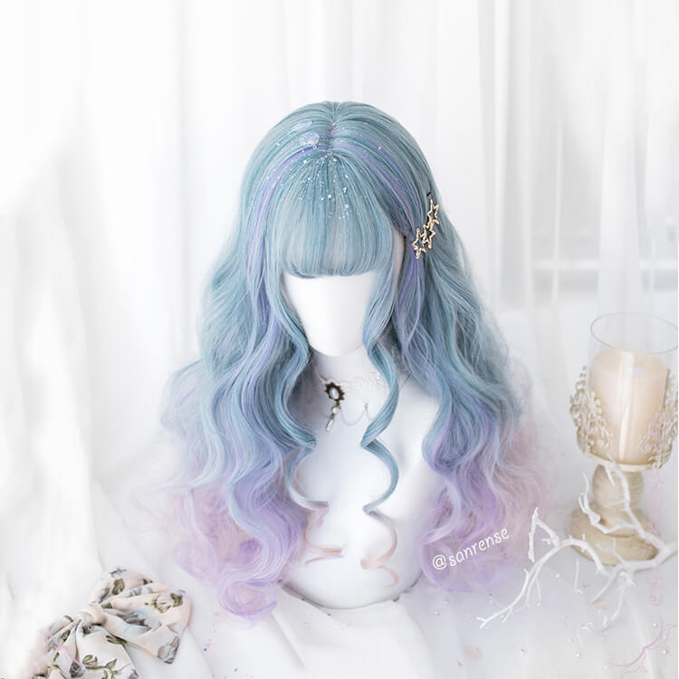 Kawaii Gradient Blue-purple Wig SE21093