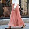 Kawaii High Waist Pleated A-Line Swing Skirt SE20289