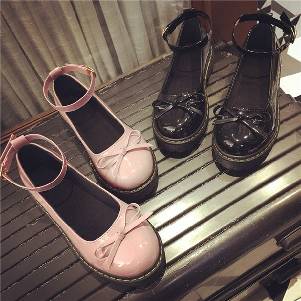 Japanese kawaii bowknot shoes SE11121