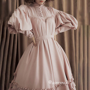 Lantern Sleeve Bow Lolita Dress SE20938