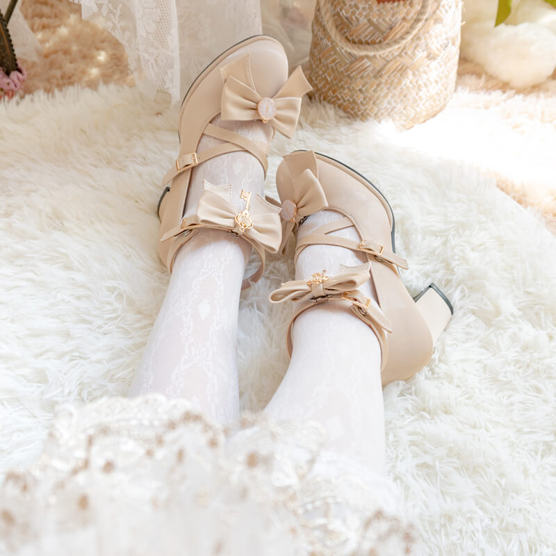 Lolita Bow Princess Shoes SE21535
