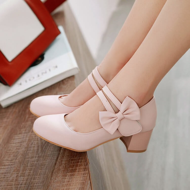 Lolita Bow Shoes SE21518