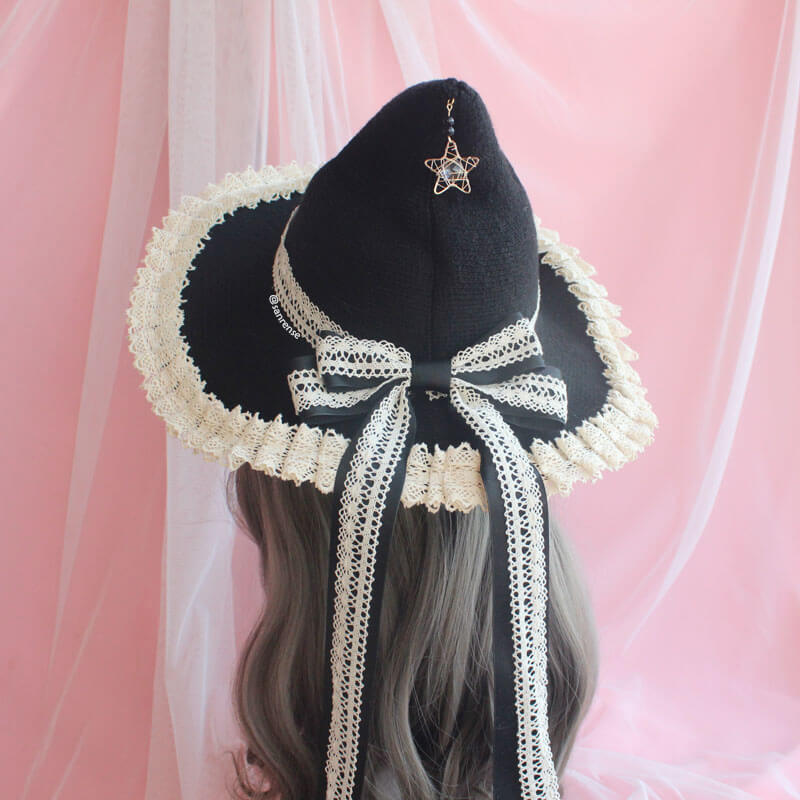 Lolita Lace Bow Hat SE21231