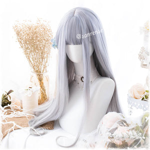 Lolita Purple Gray Gradient Wig SE21033
