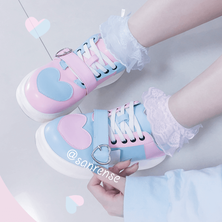 Love Bowknot Lolita Princess Shoes SE20937