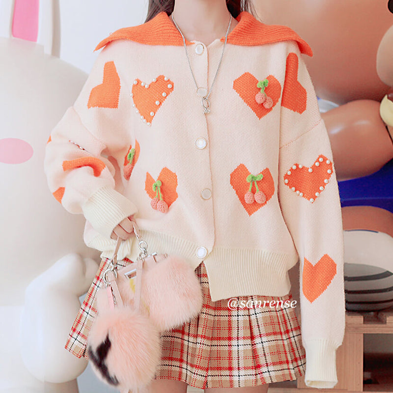 Love Knit Cardigan Sweater SE21158