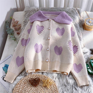 Love Knit Cardigan Sweater SE21188