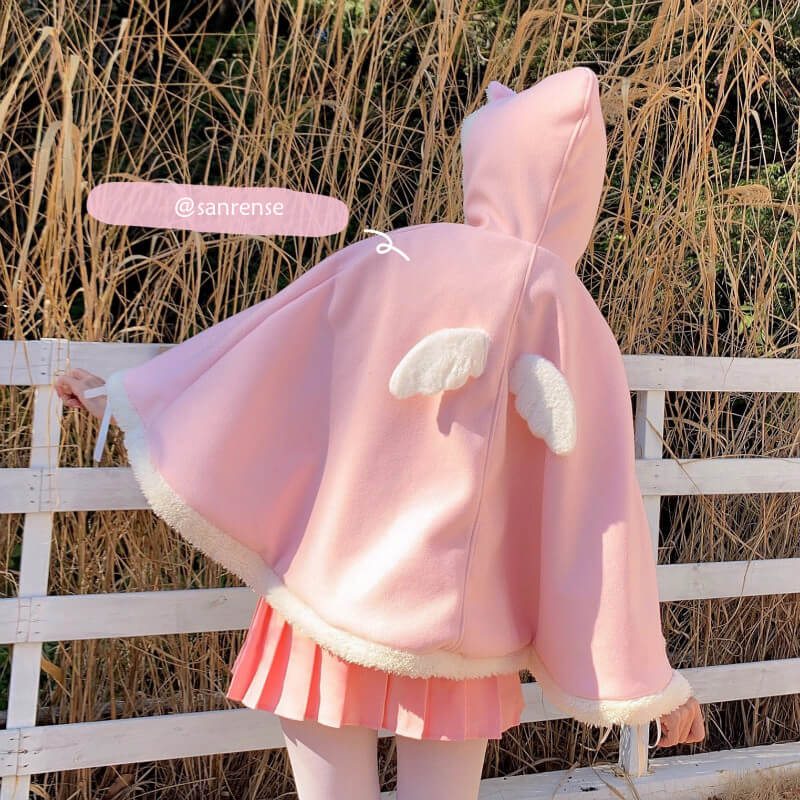 Love Wings Cape Hoodie SE21191