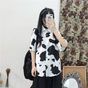 Cow Spotted Shirt SE20834