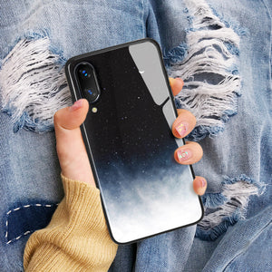 Moon Galaxy Tempered Glass Phone Case SE20395