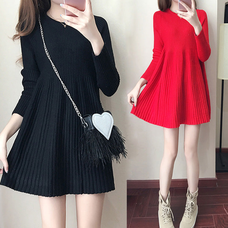 Sweet Japanese Sweater Dress SE20157