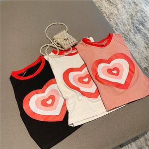 Cute Love T-shirt Top SE20057