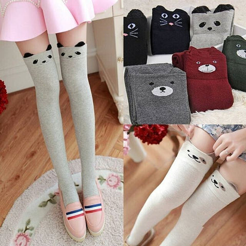 2016 Japanese cute cartoon panda stockings SE6085