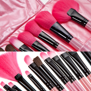 24pcs Cute Makeup Brush Cosmetic Set - Pink SE2327