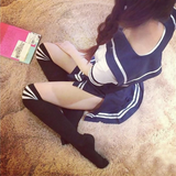 Japanese students uniform cosplay skirt suit