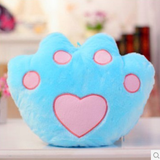 Cute colorful star luminous hold pillow