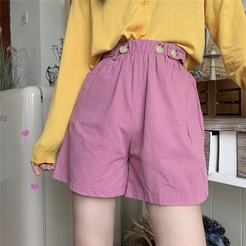 Plain Pants Shorts SE20402
