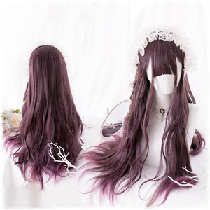Purple Gradient Harajuku Wig SE21330