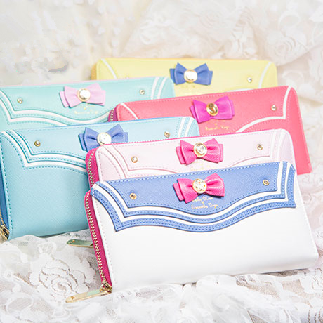 Cartoon sweet bowknot sailor zipper wallet SE4593