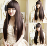 Sweet straight Hair wig SE483