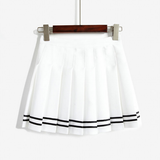Sweet kawaii cute college style student skirt