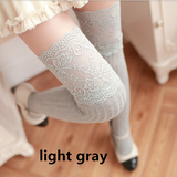 Cute students lace stockings SE930