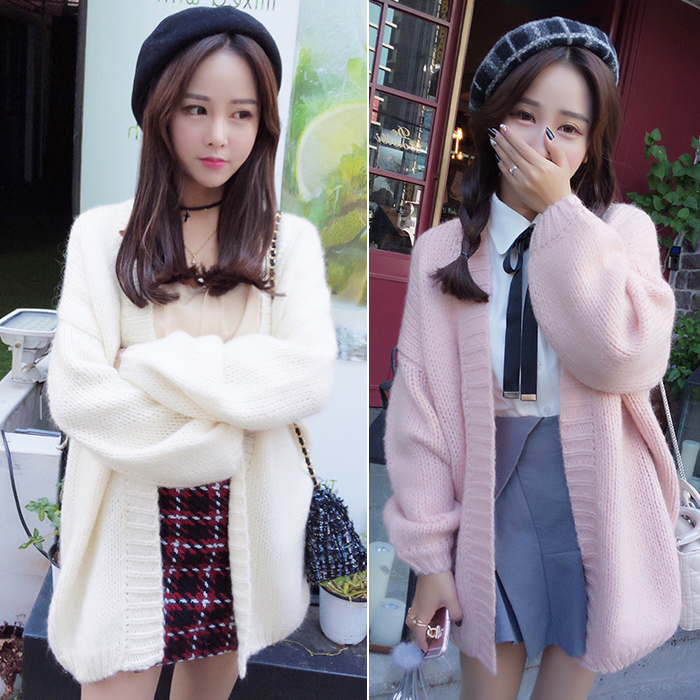Fashion students sweater cardigan coat