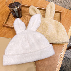 Rabbit Ear Hat Plush Beret SE21317