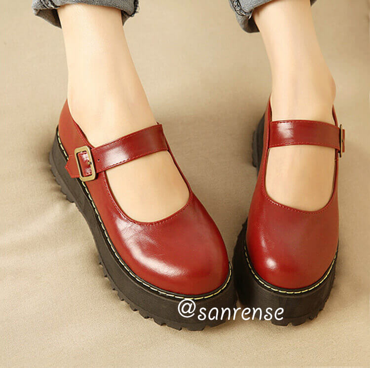 Retro Lolita Platform Shoes SE20907