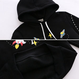 Rocket Planet Space Hoodie SE20683