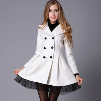 Woman Fashion Lace Coat SE4516