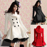 Cute woman fashion lolita lace coat