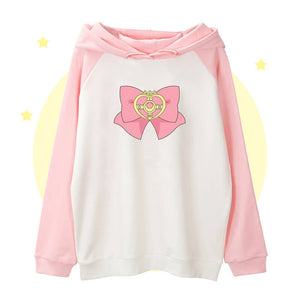 Sailor Moon Bow Hoodie SE20823