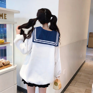 Sailor Girl Sweatshirt SE20236