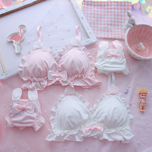 Soft Cute Rabbit Ears Underwear Set SE20874
