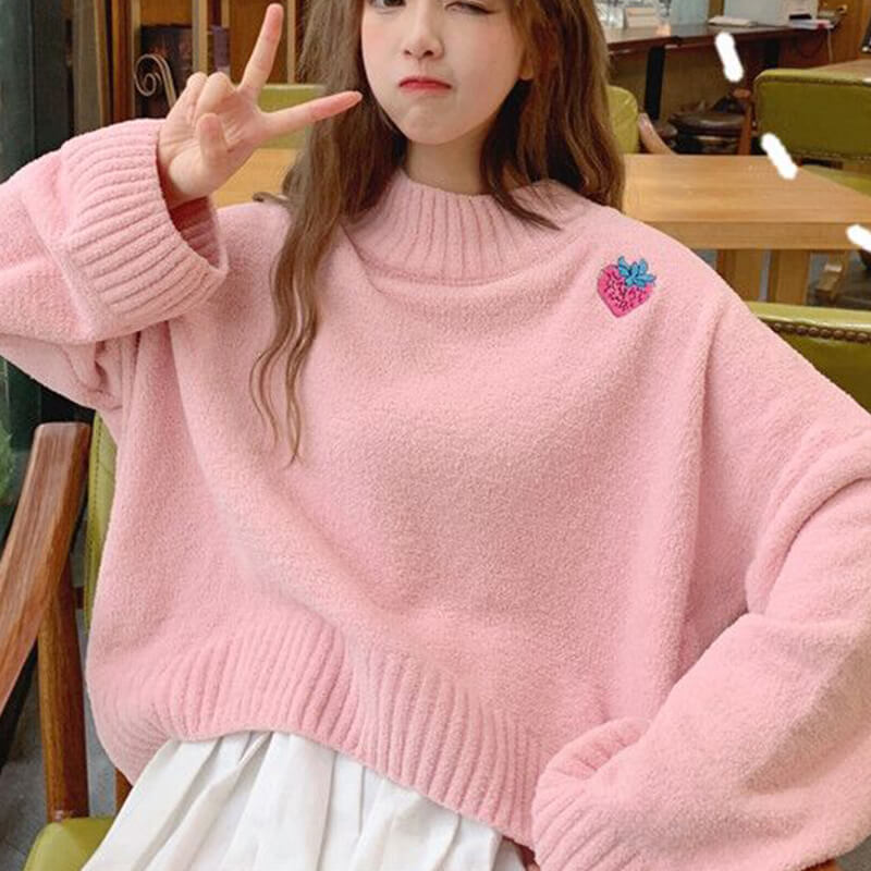 Strawberry Sweater SE21571