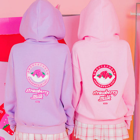 Strawberry Milk Hoodie SE20110