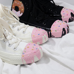 Sweet Donut Canvas Shoes SE20877