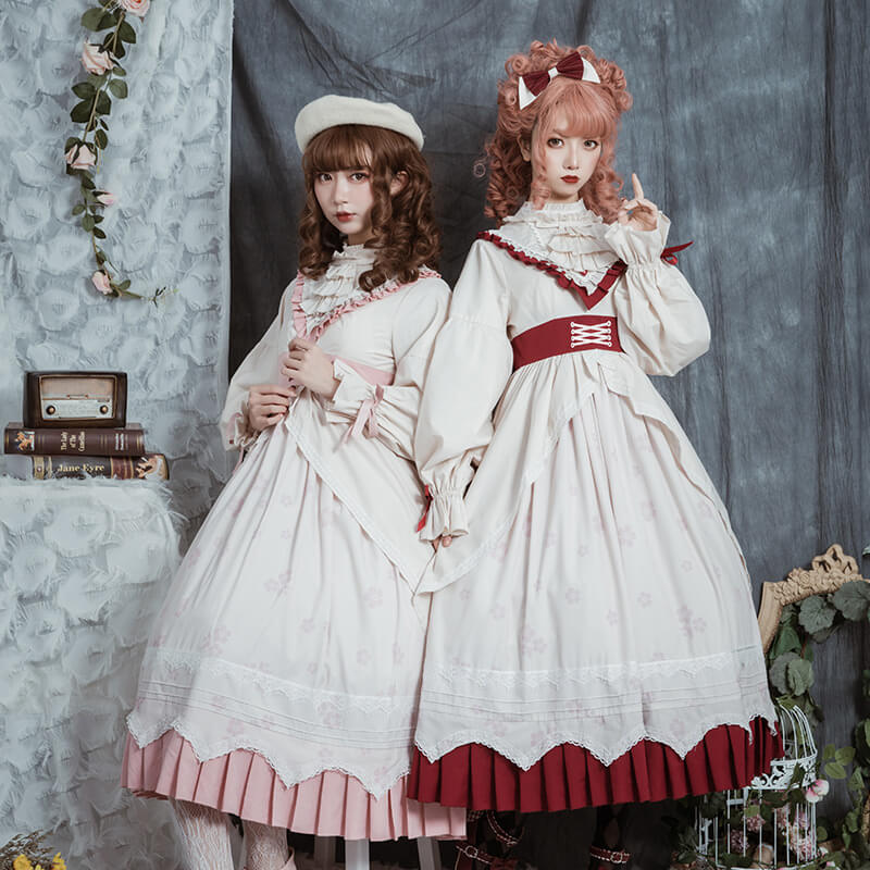 Sweet Flower Lolita Dress SE21092