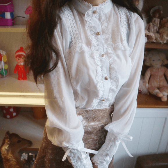 Sweet Lace Shirt SE20818