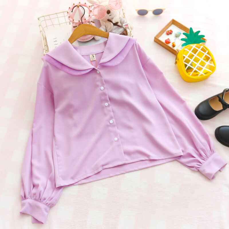 Sweet Bow Chiffon Blouse SE20561
