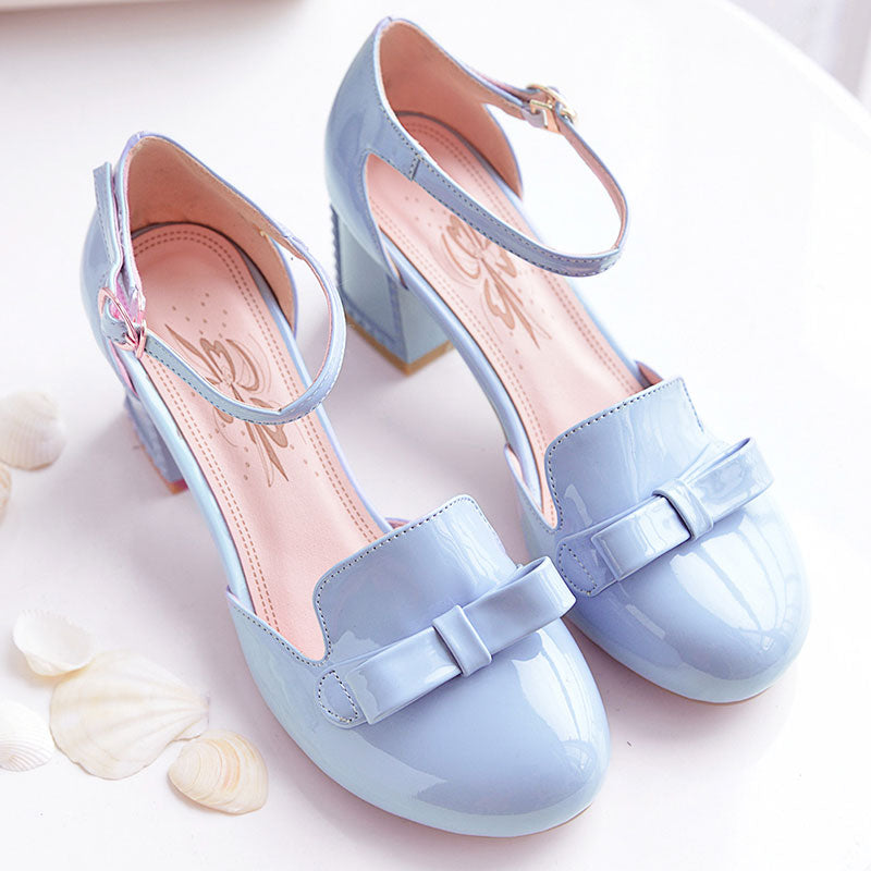 Sweet Bow Student Shoes SE20334