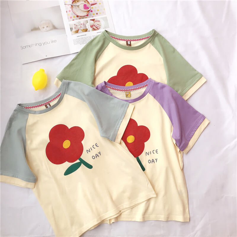 Sweet Flower T-shirt SE20507