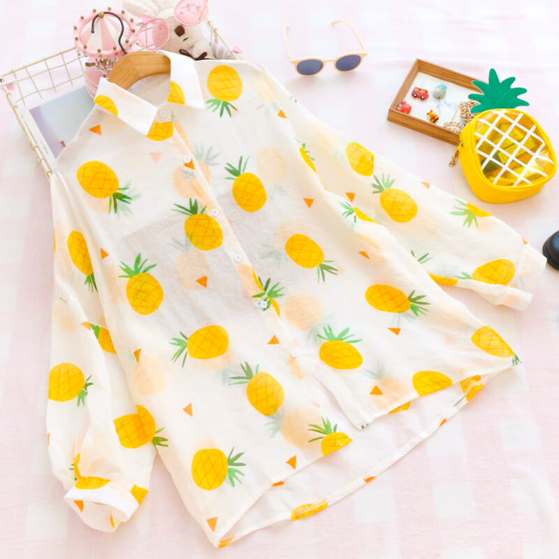 Sweet Fruit Pineapple Shirt SE20398