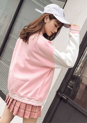 Sweet Japanese Baseball Jacket SE20569